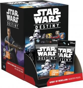 Star Wars Destiny - Espírito da Rebelião - 36 Boosters