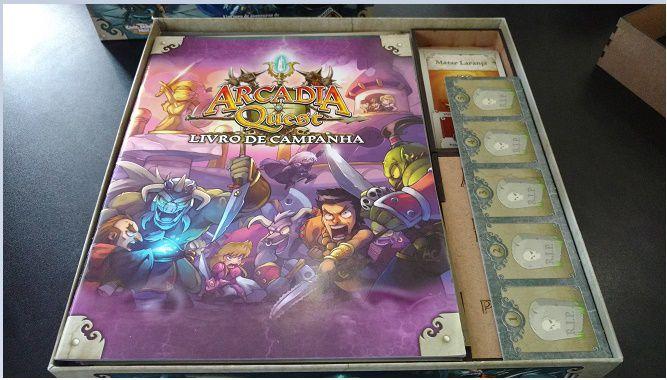Organizador (Insert) para Arcádia Quest