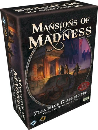 Mansions of Madness - Expansão Pesadelos Recorrentes