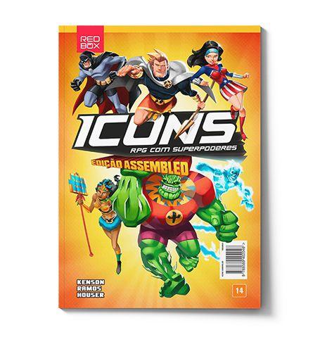Icons Assembled - RPG com Superpoderes - Livro Básico