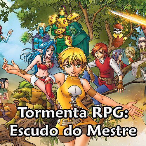 Tormenta - Escudo do Mestre - RPG
