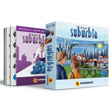 Combo - Suburbia + Suburbia INC + Promos Exclusivas - Em Português! (PRÉ-VENDA)