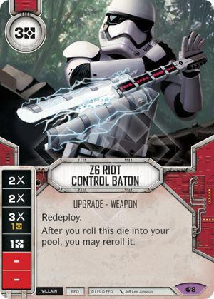 Bastão de Controle de Distúrbios Z6 - Z6 Riot Control Baton