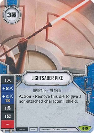 Lança de Sabre de Luz - Lightsaber Pike