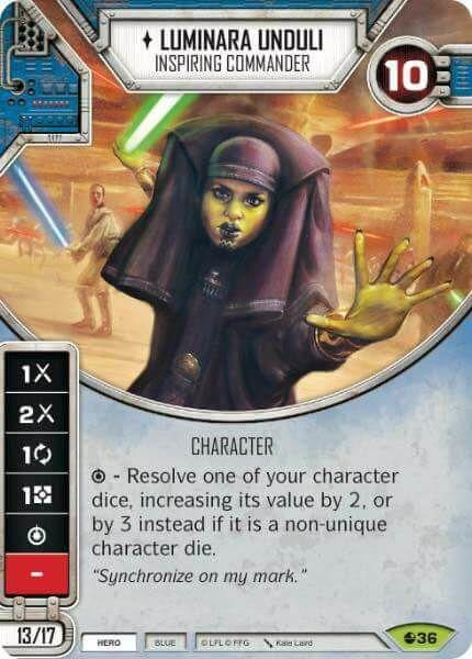 Luminara Unduli - Inspiring Commander - Luminara Unduli - Comandante Inspiradora