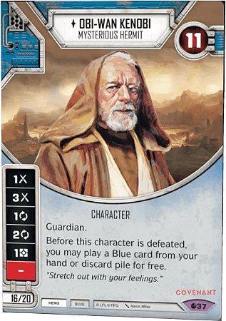 Obi-Wan Kenobi - Mysterious Hermit - Obi-Wan Kenobi - Eremita Misterioso