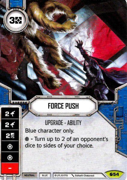 Empurrão com a Força - Force Push