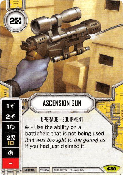 Pistola de Ascensão - Ascension Gun
