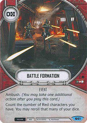 Formação de Batalha - Battle Formation