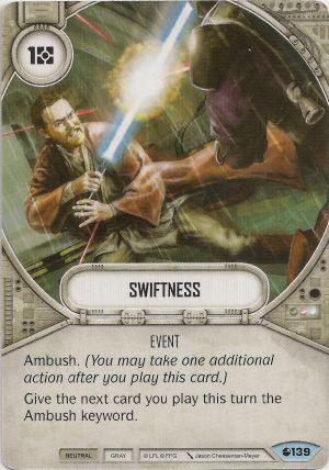 Rapidez - Swiftness
