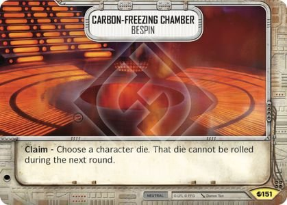Câmara de Congelamento de Carbono Bespin - Carbon-freezing Chamber Bespin