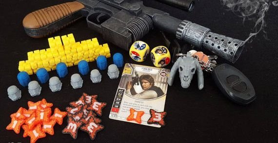 Tokens para Star Wars Destiny - 3d - Importado Epic Tokens