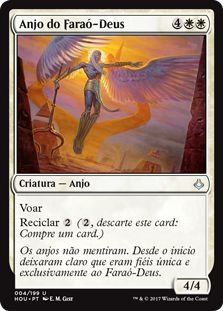 HOU 004 - Anjo do Faraó-Deus (Angel of the God-Pharaoh)