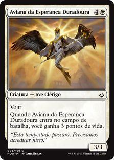 HOU 005 - Aviana da Esperança Duradoura (Aven of Enduring Hope)