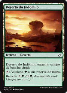 HOU 172 - Deserto do Indômito (Desert of the Indomitable)