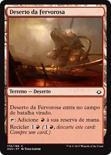 HOU 170 - Deserto da Fervorosa (Desert of the Fervent)