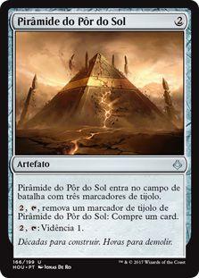 HOU 166 - Pirâmide do Pôr do Solo (Sunset Pyramid)