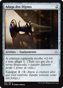 HOU 160 - Adaga dos Dignos (Dagger of the Worthy)