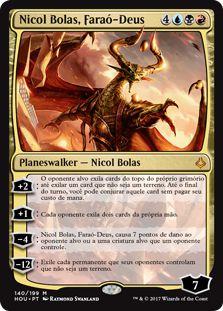 HOU 140 - Nicol Bolas, Faraó-Deus (Nicol Bolas, God-Pharaoh)