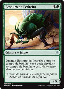 HOU 127 - Besouro da Pedreira (Quarry Beetle)