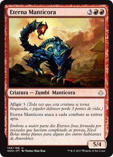 HOU 103 - Eterna Mantícora (Manticore Eternal)