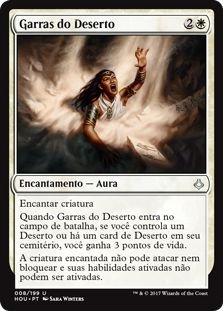 HOU 008 - Garras do Deserto (Desert's Hold) FOIL