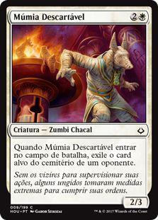 HOU 009 - Múmia Descartável (Disposal Mummy) FOIL