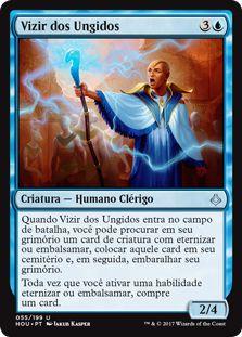 HOU 055 - Vizir dos Ungidos (Vizier of the Anointed) FOIL