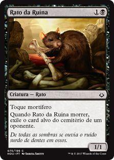 HOU 075 - Rato da Ruína (Ruin Rat) FOIL