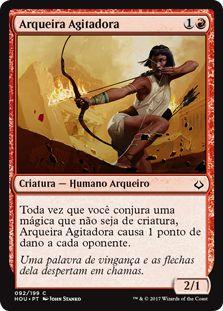 HOU 092 - Arqueira Agitadora (Firebrand Archer) FOIL