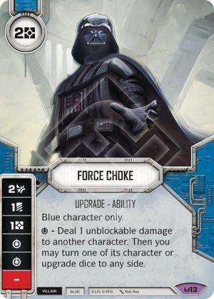Estrangulamento com a força - Force Choke