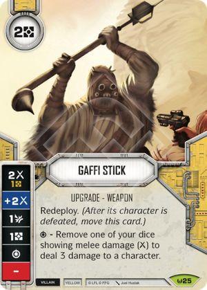 Bastão Gaffi - Gaffi Stick