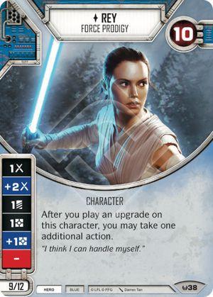 Rey Prodígio da Força - Rey Force Prodigy - ELITE(2 Dados)