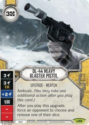 Pistola Blaster Pesada DL-44 - DL-44 Heavy Blaster Pistol