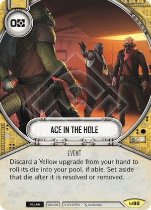 Carta na Manga - Ace in the Hole