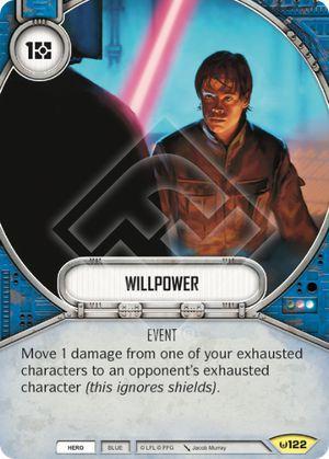 Força de Vontade - Willpower