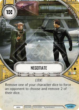 Negociar - Negotiate