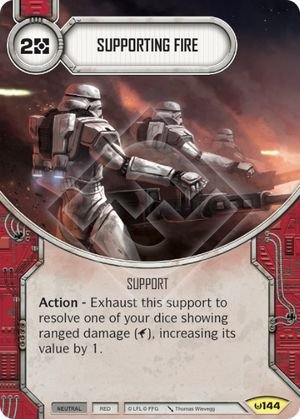 Fogo de Apoio -  Supporting Fire