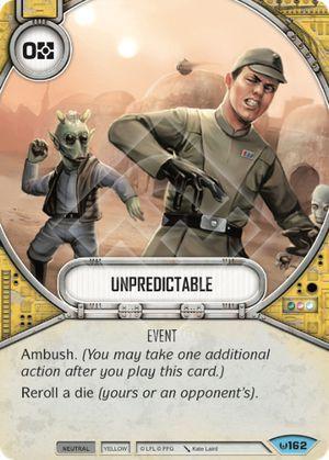 Imprevisível - Unpredictable