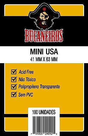 Sleeves Bucaneiros 41x63mm - Mini USA - com 100 Unidades