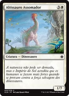 XLN023 - Altissauro Assomador (Looming Altisaur)