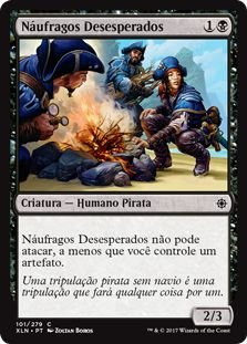 XLN101 - Náufragos Desesperados (Desperate Castaways)