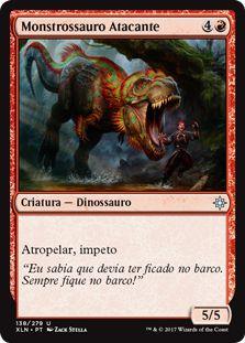 XLN138 - Monstrossauro Atacante (Charging Monstrosaur)