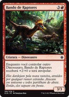 XLN168 - Bando de Raptores (Thrash of Raptors)