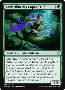 XLN197 - Andarilha das Copas Tritã (Merfolk Branchwalker)