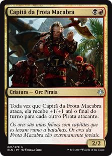 XLN221 - Capitã da Frota Macabra (Dire Fleet Captain)