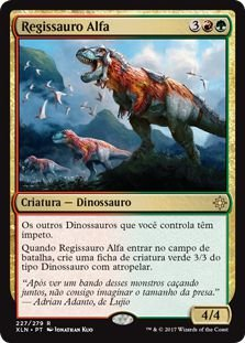 XLN227 - Regissauro Alfa (Regisaur Alpha)