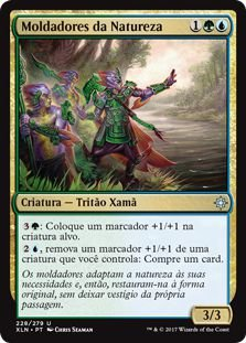XLN228 - Moldadores da Natureza (Shapers of Nature)