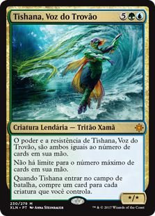 XLN230 - Tishana, Voz do Trovão (Tishana, Voice of Thunder)