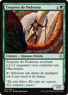 XLN187 - Tropeiro do Poderoso (Drover of the Mighty) FOIL